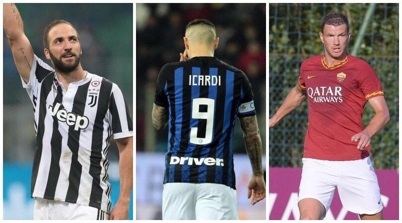 Higuain perde la 9 alla Juve: indizio di mercato per la Roma?