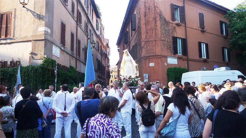 La Festa de' Noantri illumina Trastevere