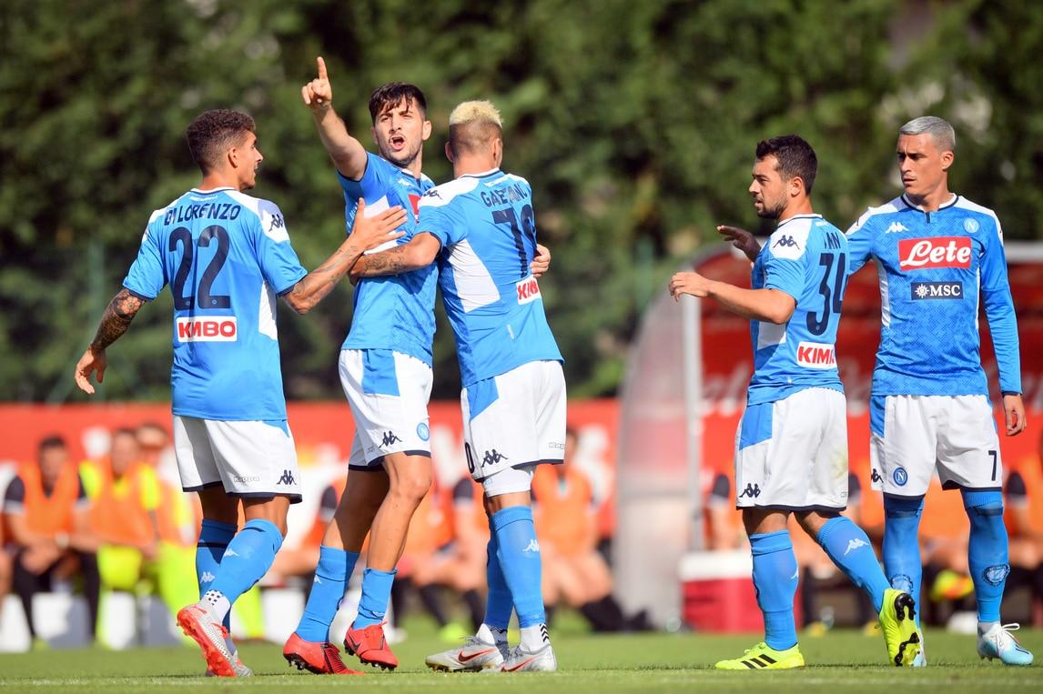Napoli, debutto con gol per Manolas: pokerissimo alla Feralpisalò
