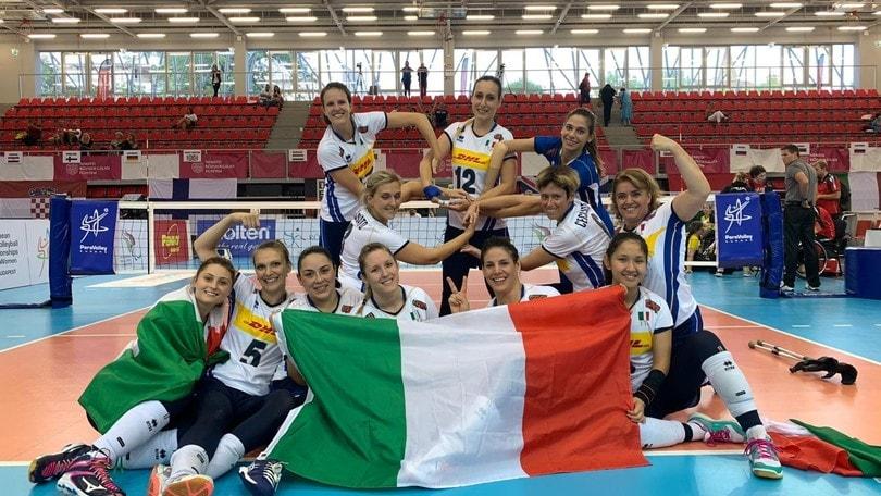 Le azzurre sbancano: finale europea e qualificazione paralimpica