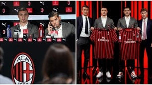 Milan, Theo Hernandez e Krunic presentati ufficialmente