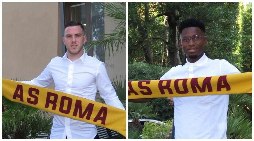 Roma, Diawara e Veretout a Villa Stuart per le visite