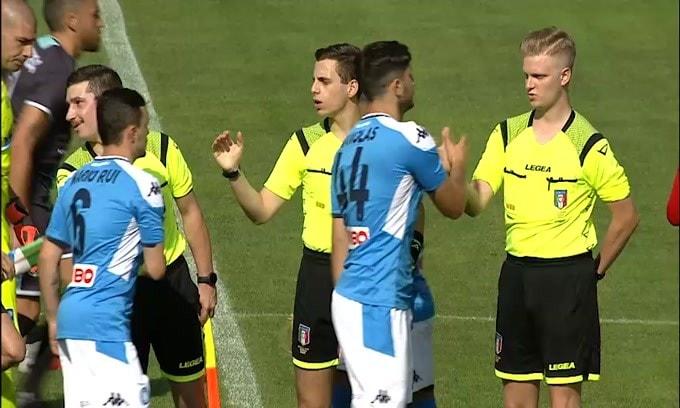Il Napoli travolge la Feralpi Salò: 5-0. In gol Manolas