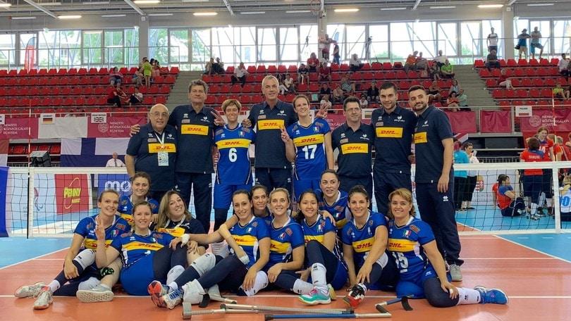 Europei Sitting Volley: le azzurre conquistano l'argento