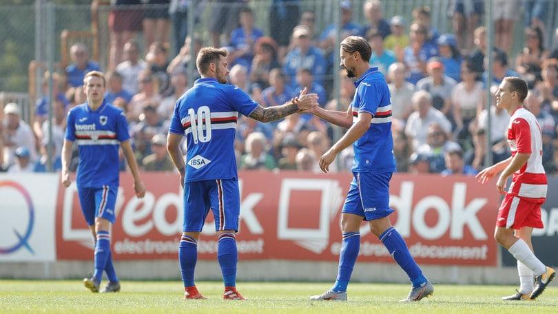 Sampdoria, doppia amichevole con il Real Vicenza: 3-0 e 8-2