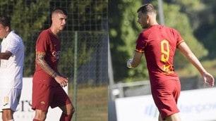 Goleada della Roma sul Trastevere, esordio per Mancini