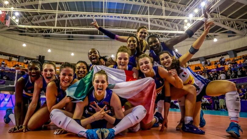 Mondiali U20: l'Italia vince di rimonta e vola in finale