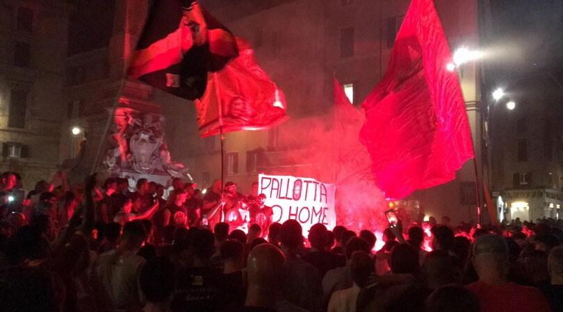 La Roma compie 92 anni: grande festa dei tifosi nel centro della capitale