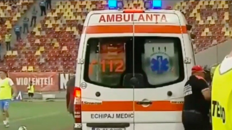 Shock Dinamo Bucarest: infarto all'allenatore durante la partita