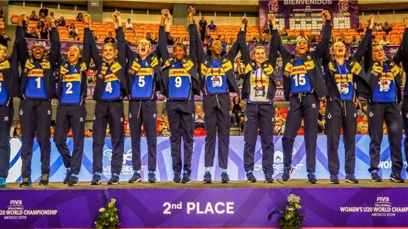 Mondiali U20: argento per le azzurre