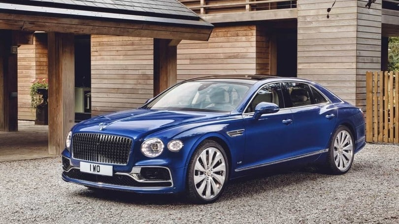 Bentley, all'asta la Flying Spur First Edition