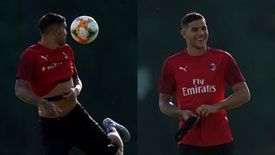 Theo Hernandez si prende il Milan: show in allenamento