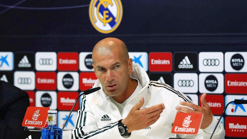 "Zidane: ""James Rodriguez? Per ora è del Real, poi non so…"""