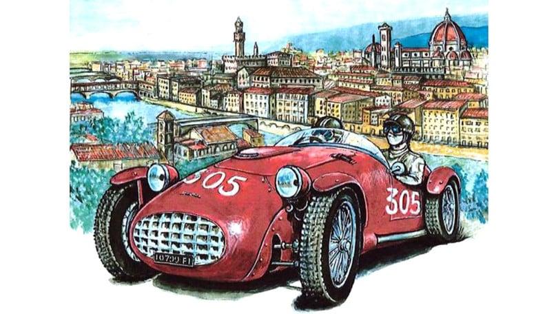 'Firenze da competizione', auto e moto da corsa in mostra