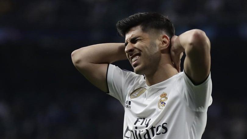 Real Madrid, infortunio per Asensio: rottura del legamento crociato