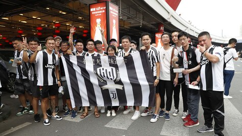 Juventus-Inter, tafferugli e sfottò tra tifosi