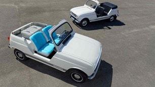 Renault e-Plein Air concept, tributo alle R4, le immagini