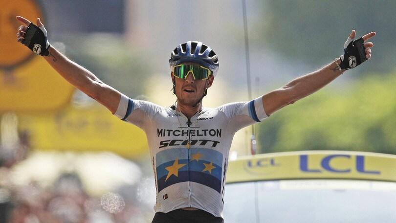 Tour de France, Trentin vince la 17ª tappa. Alaphilippe resta in giallo