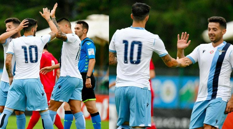 Lazio, che manita all'Entella