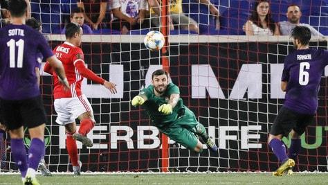 Fiorentina-Benfica 1-2: brilla Vlahovic, riecco Chiesa