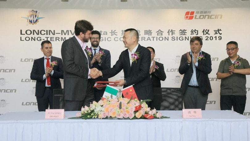 MV Agusta e Loncin: alleanza a lungo termine