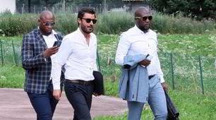 Napoli, i procuratori di Pepé atterrano a Dimaro