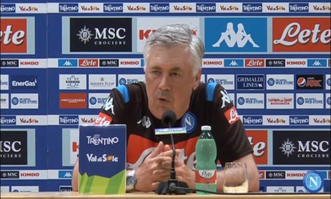 """Ancelotti su James: """"Il Real vuole cederlo, il Napoli prenderlo"""""""