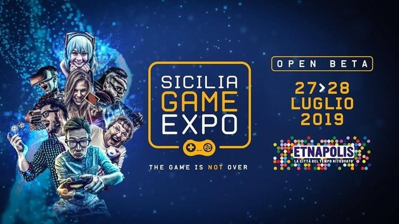 Parte il Sicilia Game Expo: tra videogiochi, esport e boardgame