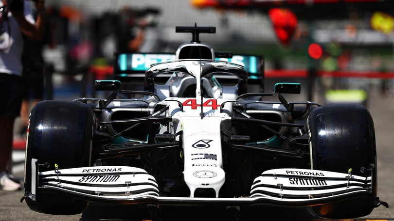 Mercedes, svelata una livrea speciale per il Gp di Germania