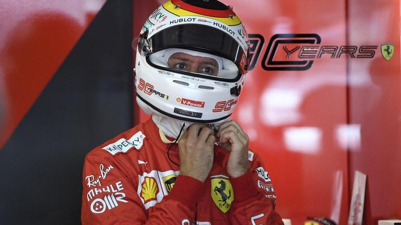 Gp Germania: doppietta Ferrari nelle libere 1, Vettel il più veloce