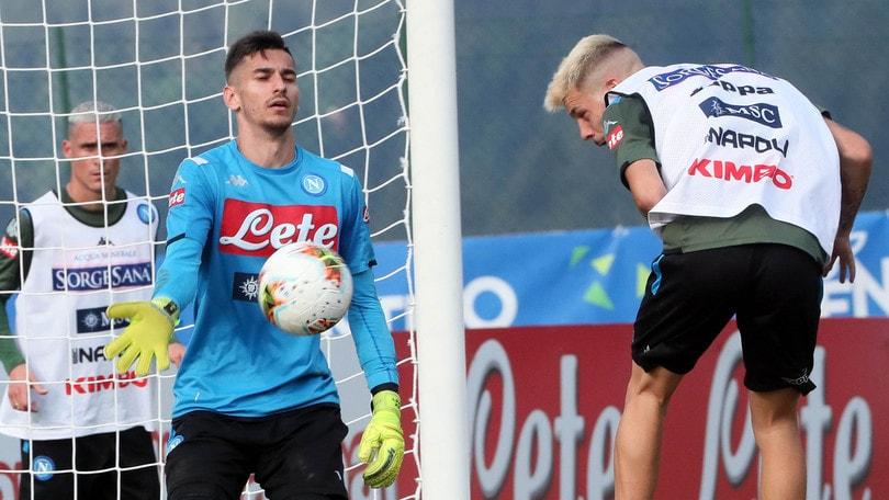 """Napoli, Meret: """"Il gruppo è rimasto lo stesso, proveremo sempre a vincere"""""""
