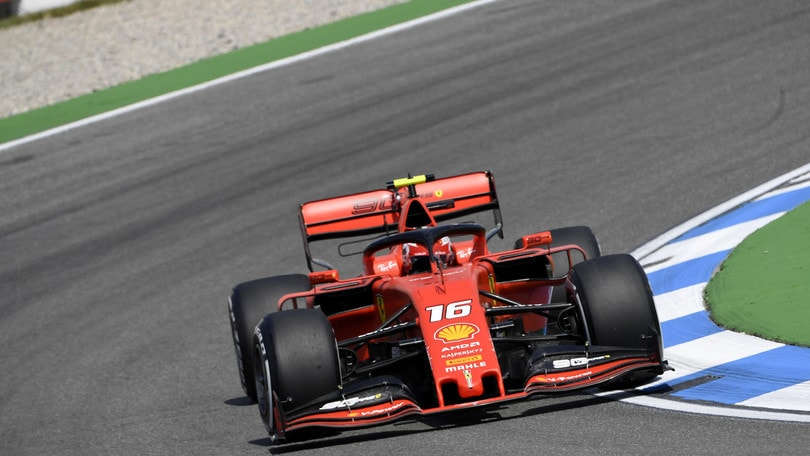 Gp Germania: è ancora Ferrari show nelle libere