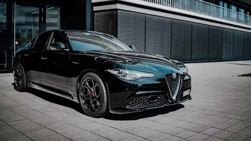 Alfa Giulia Veloce >> Alfa Giulia Veloce Piu Potente Grazie Al Tuning Di Pogea
