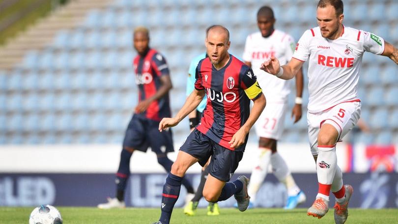 Bologna, rossoblu ko 1-3 contro il Colonia