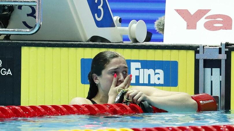 Benedetta Pilato vince l'argento nei 50 rana donne
