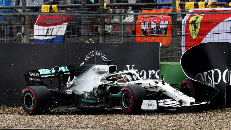 Gp Germania: Leclerc a muro, ritiro dopo 29 giri