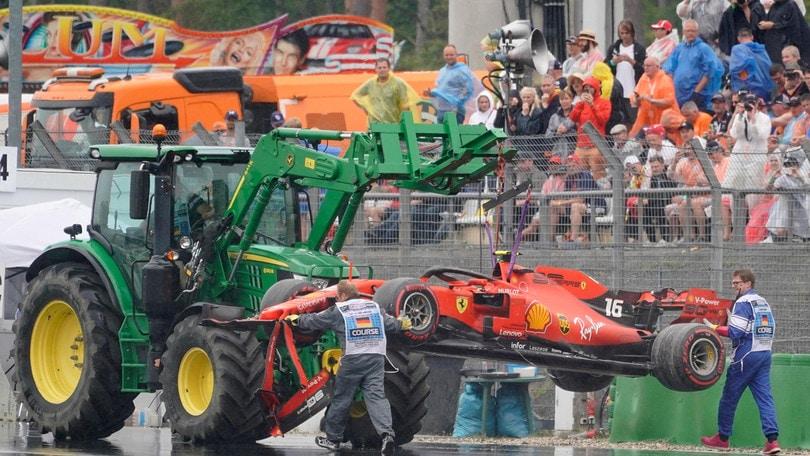 """Ferrari, Leclerc: """"Un errore ha rovinato tutto"""""""