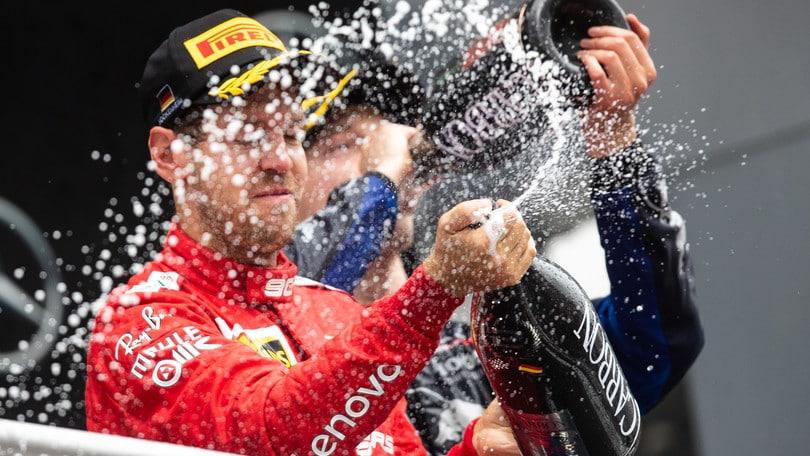 """Ferrari, Binotto: """"Vettel splendido, Leclerc ha sprecato un'opportunità"""""""