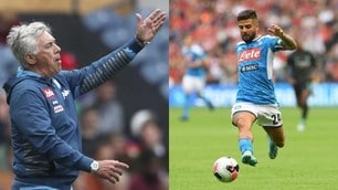 Napoli, impresa con il Liverpool: Ancelotti comanda, Insigne esegue