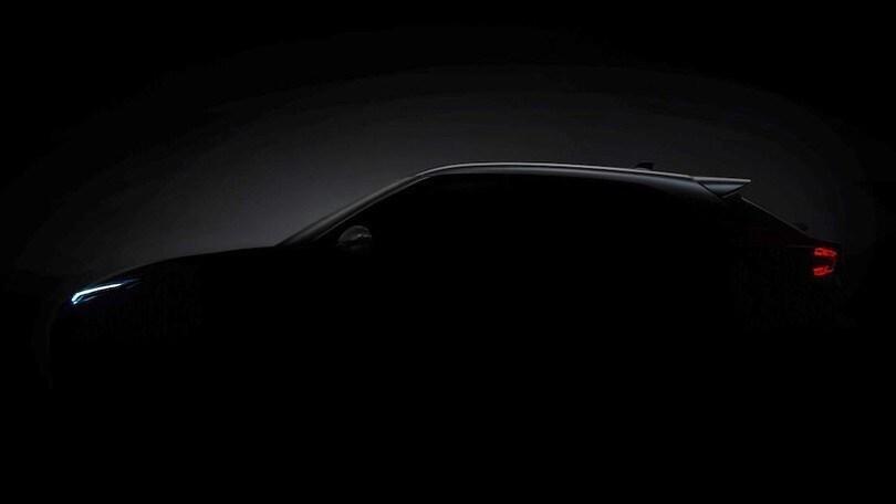 Nuova Nissan Juke, il terzo tesser svela la silhouette