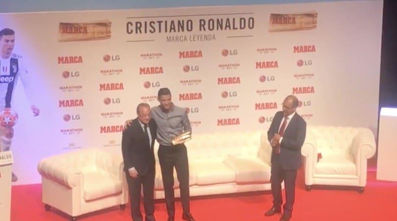 Ronaldo abbraccia Perez a Madrid