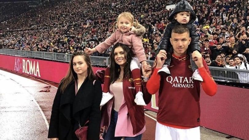 Dzeko, futuro all'Inter ma il cuore resta a Roma