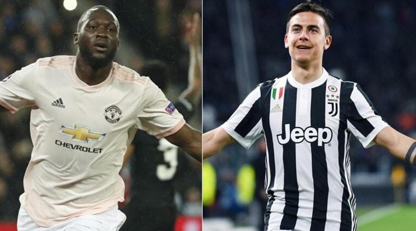 Juve, scambio Lukaku-Dybala: si fa in otto giorni