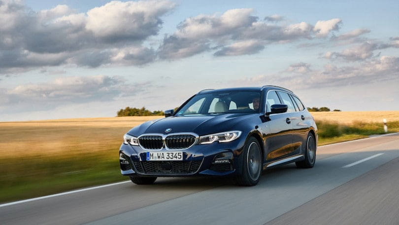 Nuova BMW Serie 3 Touring, test drive