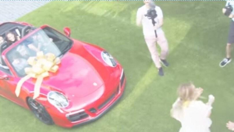 Jennifer Lopez, una Porsche 911 per il compleanno da Alex Rodriguez
