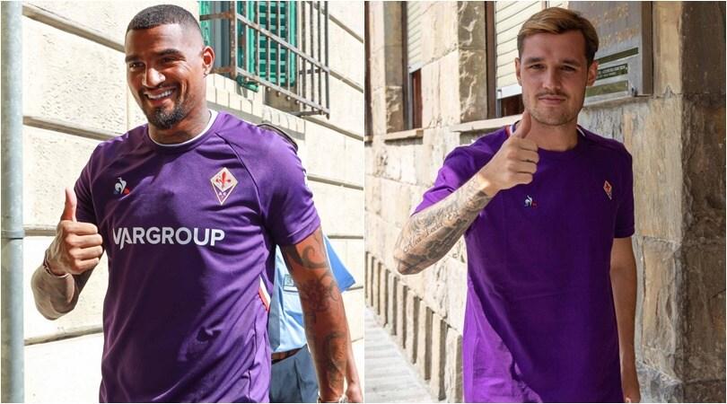 Fiorentina, Boateng e Lirola in viola: visite mediche e firma
