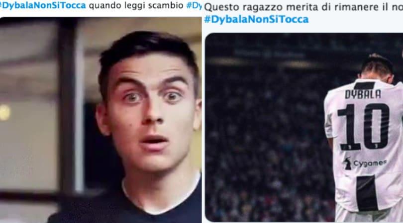 """Juve, tifosi scatenati sui social: """"Dybala non si tocca"""""""