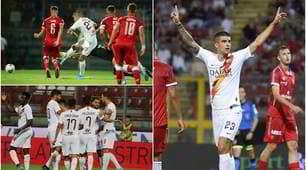 Roma, Dzeko in gol ma il bomber è Mancini: doppietta e Perugia ko