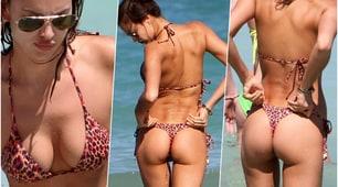Irina Shayk si rilassa a Miami: le curve sono mozzafiato