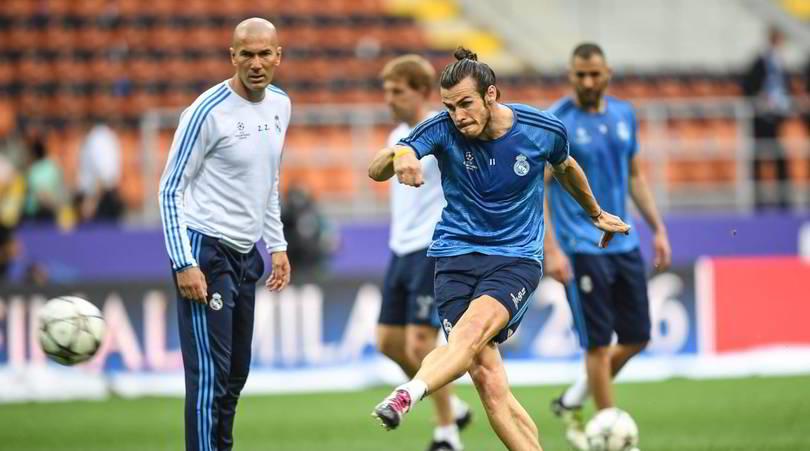 "Zidane: ""Bale gioca a golf? Speravo si allenasse"""